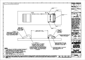 Weld-On Shoulders Diagrams - Pandrol USA