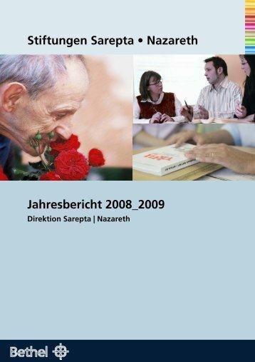 [pdf]- Datei zum herunterladen - Stiftungen Sarepta | Nazareth