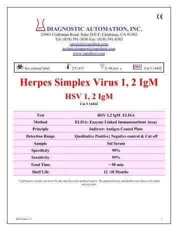 Herpes simples 1 2