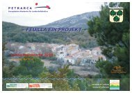 Programm Feuilla - Europäische Akademie für Landschaftskultur