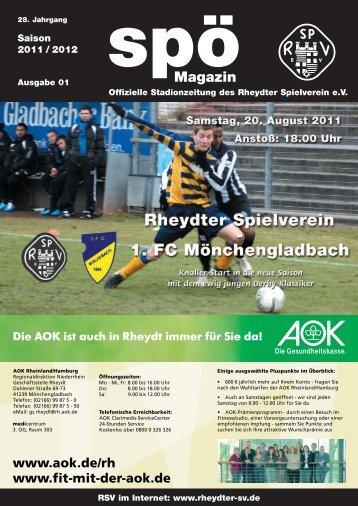 20. August 2011 1.FC Mönchengladbach - beim Rheydter SV