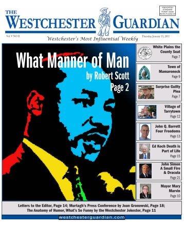 January 13, 2011 - WestchesterGuardian.com