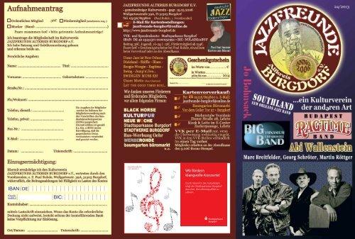 Programm 24/2013 - Jazzfreunde-Burgdorf
