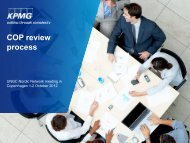 COP review process - Global Compact Nordic Network