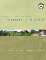Memoria de Labores (spanish) - Gremial Forestal