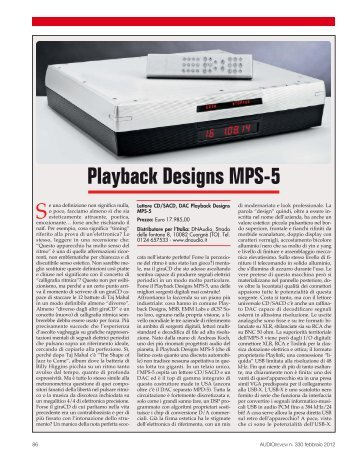 Playback Designs MPS-5