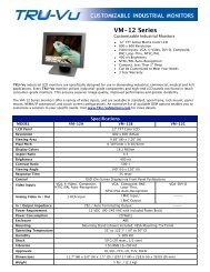 VM-12 Series Datasheet - Covistech.com