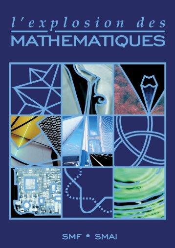 la brochure « L'explosion des mathématiques - lmpt