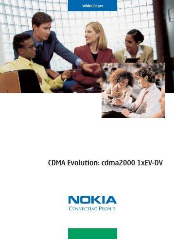 CDMA Evolution: cdma2000 1xev-Dv