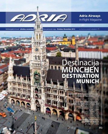 Destinacija - Adria Airways