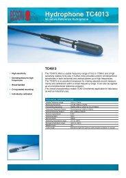 Hydrophone TC4013
