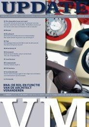 BNA: de rol eN fuNctie vAN de Architect verANdereN - VM Online