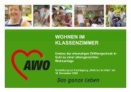 Wohnen im Klassenzimmer - Landesseniorenvertretung Thüringen