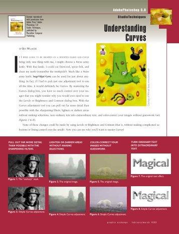 Understanding Curves - Graphic Exchange magazine