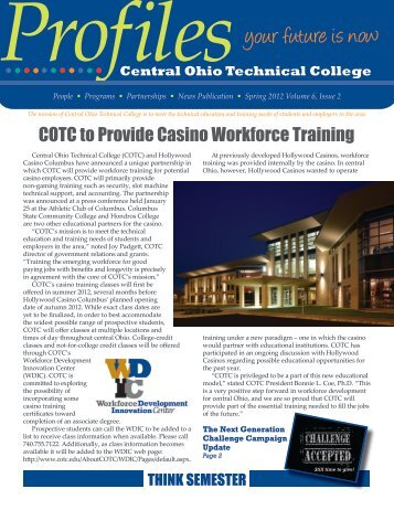 Profiles - Central Ohio Technical College