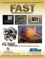 FAST Flyer Homeland Security - L-3 Communications