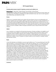 2013 Accepted Abstracts - PAINWeek