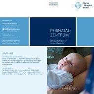 Perinatal- Zentrum - Marien-Hospital Witten