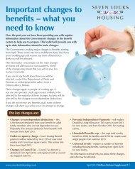 to download Welfare Reform Supplement - Seven Locks Housing