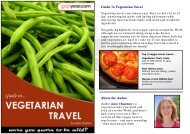 Guide To Vegetarian Travel About the Author - Gapyear.com