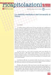 Ricapitolazioni 6 - Università degli Studi di Torino