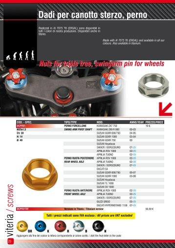screws - Quality products