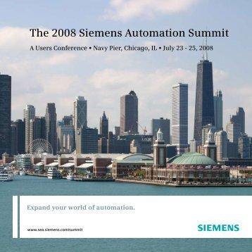 The 2008 Siemens Automation Summit