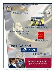 The PGA and TEAM UP! - Nebraska PGA
