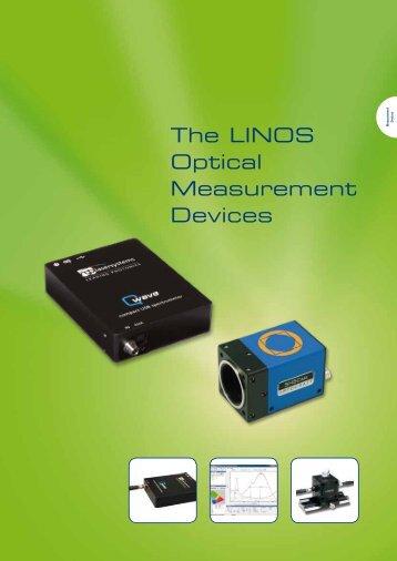 The LINOS Optical Measurement Devices - Qioptiq Q-Shop