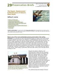 The Repair, Replacement & Maintenance of Historic Slate Roofs