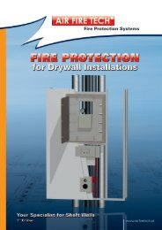 Fire Protection Systems - AIR FIRE TECH