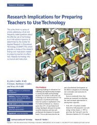 Research Implications for Preparing Teachers to Use ... - PBS Kids
