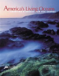 America's Living Oceans (Charting a Course for Sea Change) (pdf)
