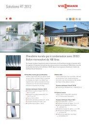 Chaudière murale gaz à condensation avec CESCI - Viessmann