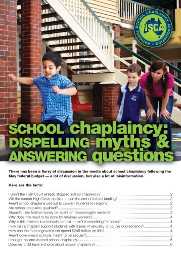 school-chaplaincy-myths-questions