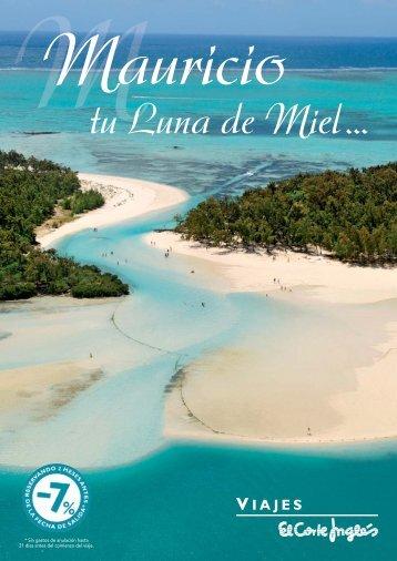 Mauricio tu Luna de Miel - Viajes El Corte Inglés