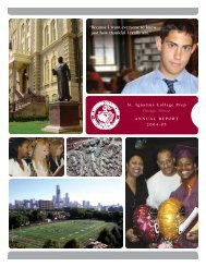 Because I want everyone to know just how - St. Ignatius College Prep