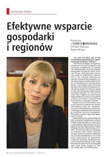 Efektywne wsparcie gospodarki i regionów - śląska izba budownictwa