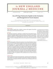 Use of B-Type Natriuretic Peptide in the Evaluation and ... - GPSC