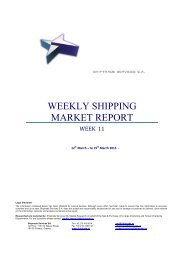 WEEKLY SHIPPING MARKET REPORT - Net