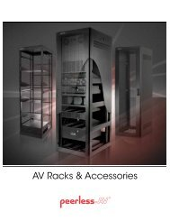 AV Racks & Accessories - Peerless-AV