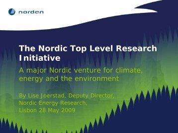 Nordic Top Level Research Initiative - Inner-era.net
