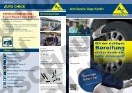 Elektronik Motordiagnose HU (m. integr. AU) - Auto-Service Singer ...