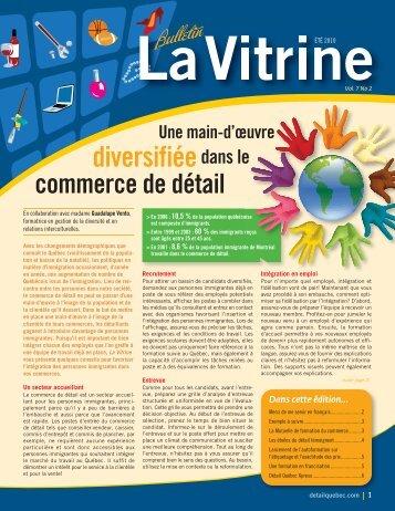 La Vitrine vol. 7, no 2 - Détail Québec