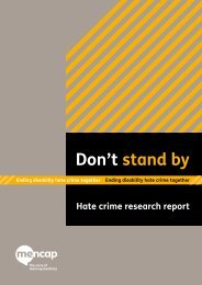 Mencap's Don't Stand By Report - Devon & Cornwall Police