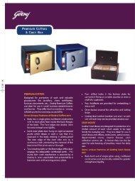 Premium Coffers & Cash Box