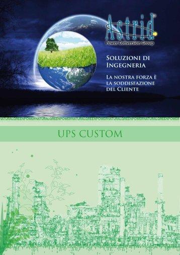 UPS CUSTOM - Borri
