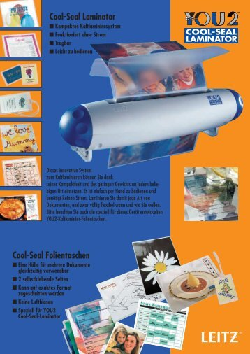 Cool-Seal Laminator Cool-Seal Folientaschen - produktinfo.conrad ...