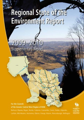 Regional State of the Environment Report - Cowra Council
