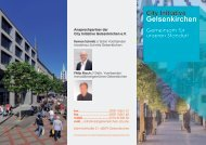 City Initiative Gelsenkirchen - Stadterneuerung